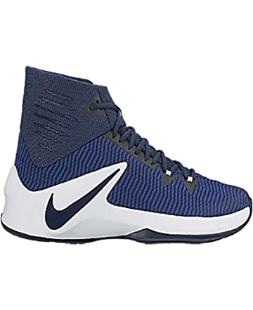 wholesale dealer 481f5 d368c NIKE Mens Zoom Clear Out PE High Top Speckled Basketball Shoes