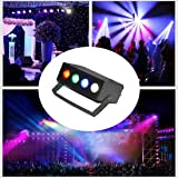 CITRA Mini Laser Projector Cum Par Light 4 LED RBGW Stage Lighting Laser Light for Party and DJ