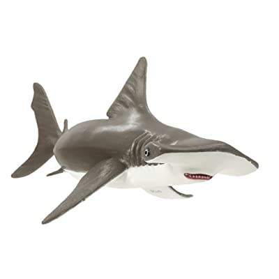 Safari Ltd Incredible Creatures Collection – Hammerhead Shark Baby – Realistic Hand Painted Toy Figurine Model – Quality Construction from Safe and BPA Free Materials – For Ages 3 and Up: Toys & Games