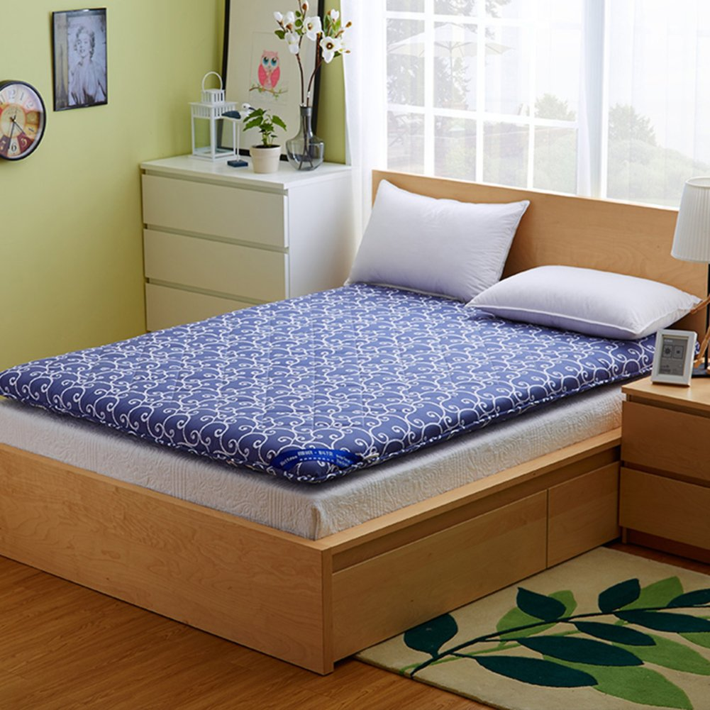 FDCVS Thickened Tatami mattresses Foldable Bed pad-B 120x200cm(47x79inch)