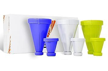 Amazoncom PowderJet Protein Storage Funnel Supplement Container