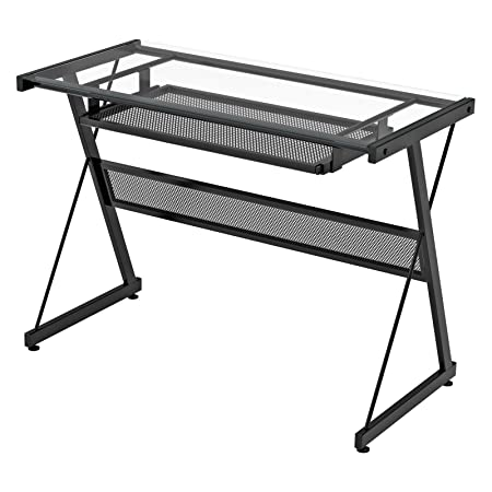 Z-Line Designs Brea Computer Desk, Black