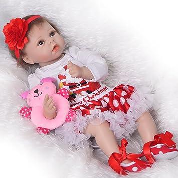 Amazon.es: Muñeca de bebé reborn de 56 cm, para recién nacido, de ...