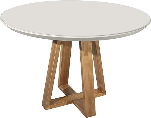 Manhattan Comfort Duffy Modern Round Dining Table