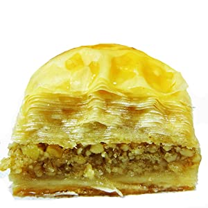 May's Middle Eastern Signature Pastries Walnut Baklava, 12 Piece