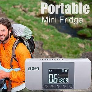 AIJUN Portable Insulin Cooler Case Keeping Mini Insulin Cooler Car Refrigerator Keeps Diabetes Medication Cool and Insulated