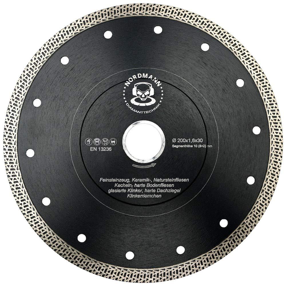 /Disque Carrelage avec bord Coupe Ultra Fins et segment /à g/éom/étrie sp/éciale haute performance pour grand vitesses de /Disque diamant/ /200/x 22,23/mm/ FS-850/Speed/