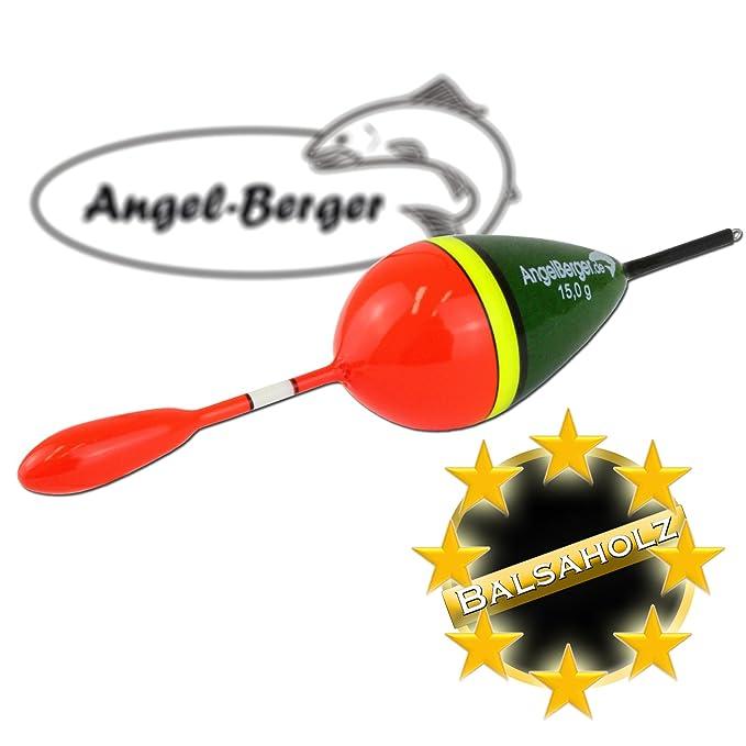 Angel-Berger Balsaholz Knicklicht Raubfischpose