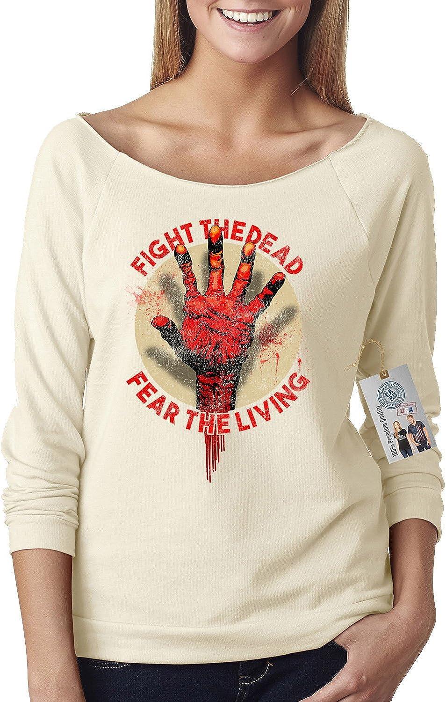 Custom Apparel R Us The Walking Dead Fight The Dead Off Shoulder Top