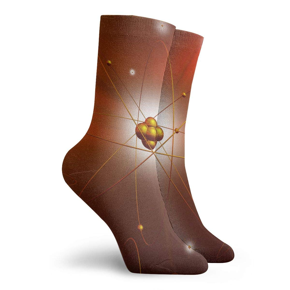 SESY Science Chemistry Molecule DNA Unisex Crew Socks Short Sports Stocking