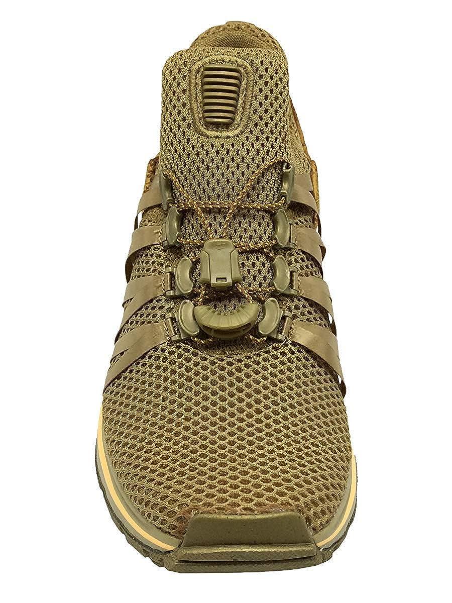 NIKE Womens Shox Gravity Metallic Gold Running Shoe AQ8854-700 6 B M US