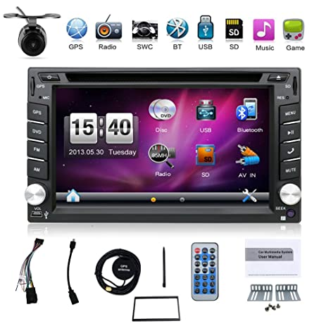 71MwEE3TcjL._SY463_ amazon com hot selling product 6 2 inch double din in dash car  at readyjetset.co