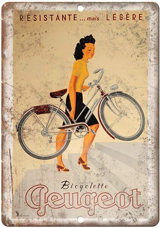 Taco Thursday Resistante Peugeot Bicycle Pintura de Hierro ...