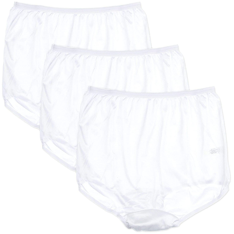 077b57558e4 Carole 3-pk. Nylon Briefs 888 at Amazon Women s Clothing store