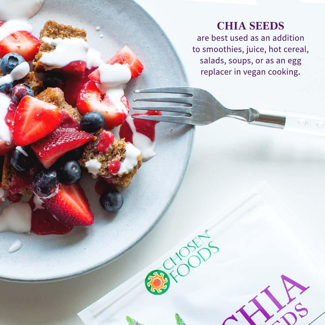 Choosen Foods semillas de chía: Amazon.com: Grocery ...