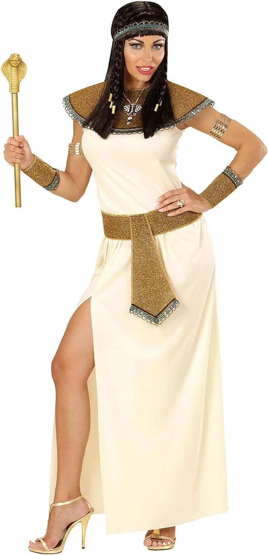 WIDMANN wdm67703 ? Disfraz para adultos Cleopatra, blanco, L ...