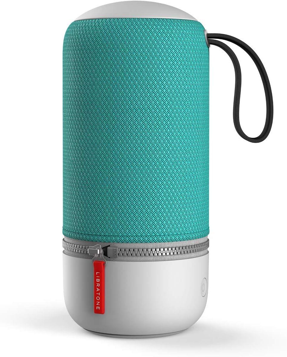 Libratone Zipp Mini 2 Smart Wireless Kleiner Lautsprecher Alexa Integration Airplay 2 Multiroom 360 Sound Wlan Bluetooth Spotify Connect 12 Std Akku Pine Green Audio Hifi