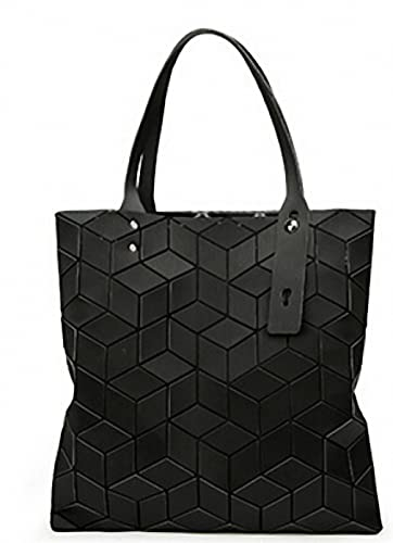 Amazon.com: Moda Mujer geométrica Lingge paquete bolsa 3d ...