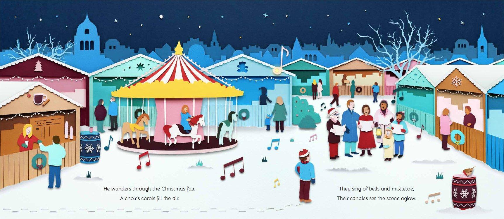 amazon com let it glow a winter u0027s walk 9781786030306 owen