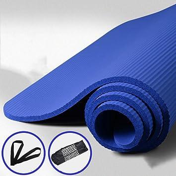 Amazon.com: ANHPI Eco Friendly TPE Yoga Mat 15mm Thick with ...