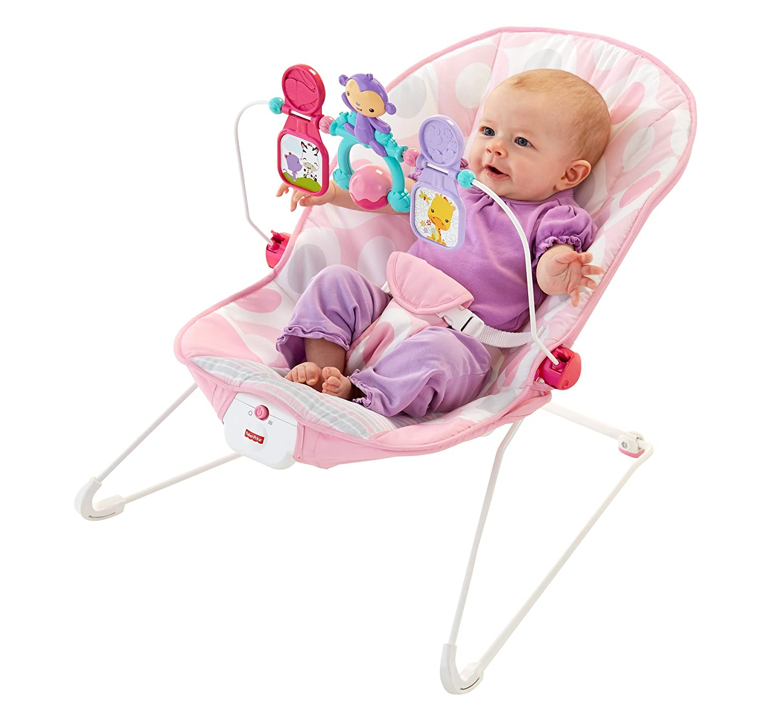 Amazon Fisher Price Baby s Bouncer Pink Ellipse e Size