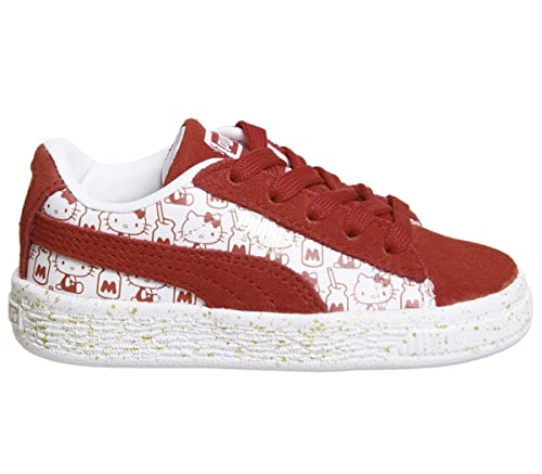 d6b5fe624497 Puma Suede Classic Infant Hello Kitty Red - 3 Infant UK