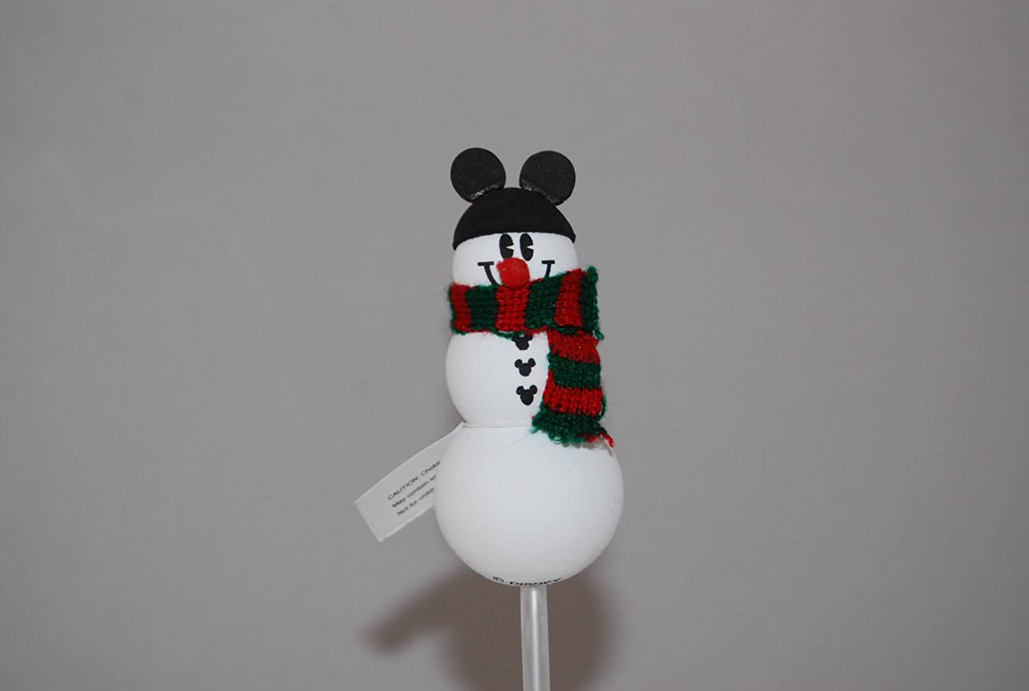 Disney Holiday Christmas Car Antenna Topper - Snowman with Mickey Mouse Hat