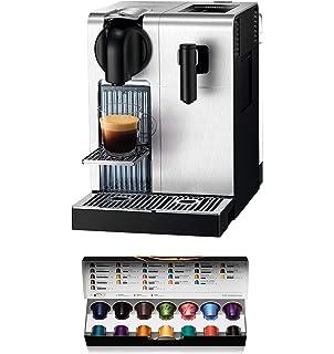Nespresso Krups Expert Milk XN6018 - Cafetera monodosis de cápsulas Nespresso con aeroccino, controlable con smartphone via bluetooth, recetas ajustables, 19 bares, apagado automático, antracita: Amazon.es: Hogar