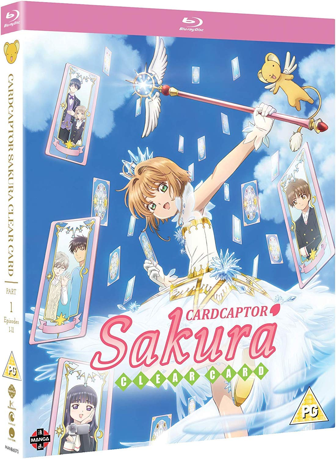 Cardcaptor Sakura: Clear Card - Part One [Blu-ray]: Amazon