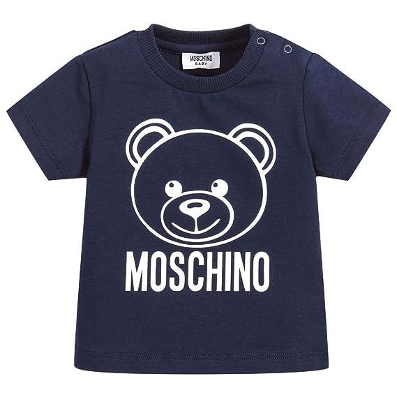 9aa65594808c8 Moschino T-Shirt Blu Con Orsacchiotto  Amazon.co.uk  Clothing