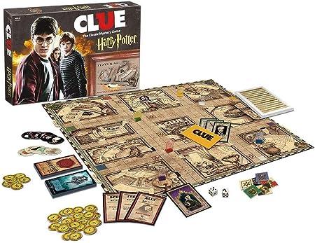 Clue Harry Potter Board Game by USAopoly: Amazon.es: Juguetes y juegos