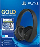 Sony Wireless Stereo Headset Gold Black Fortnite Bundle