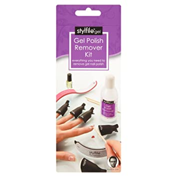 Stylfile Gel Polish Remover Kit Nail Accessories