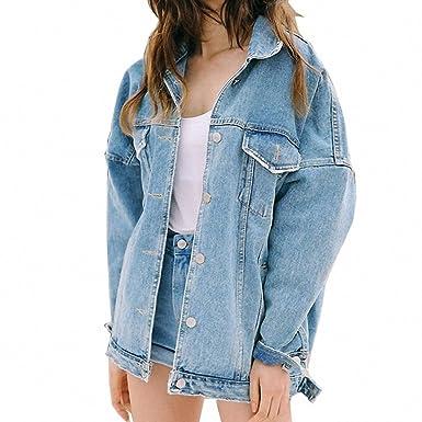 New Women Denim Jacket Jean Jacket Loose Long Sleeve Female Coats Large Size Female Jacket light