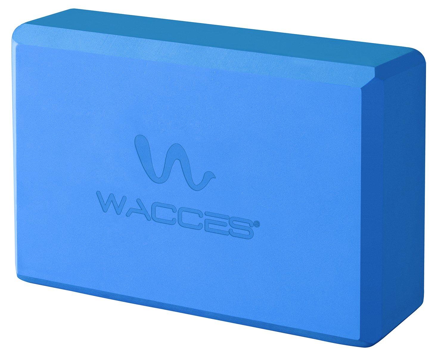 Set of 2 Wacces Foam Exercise Fitness /& Yoga Blocks