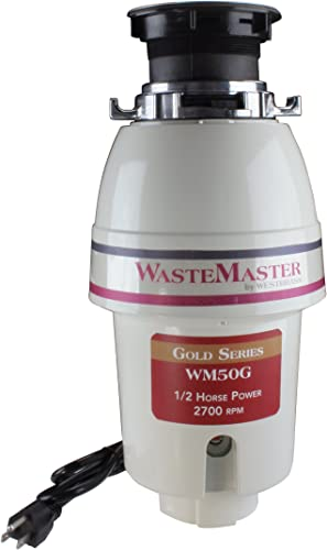 WasteMaster WM50G 1 2 HP Gold Series Continuous Speed Waste Disposer