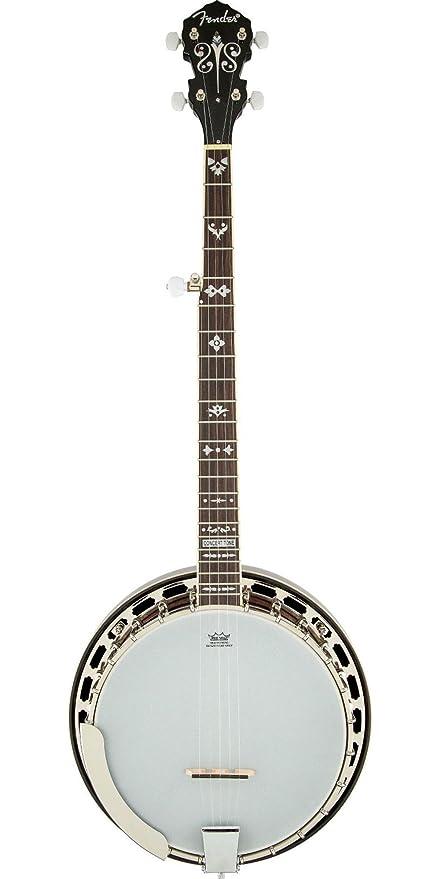 Fender 0955615021 concierto tono 54 Banjo palisandro diapasón guitarra eléctrica – color marrón Sunburst