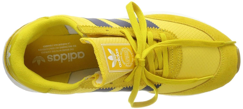 adidas Herren I 5923 Gymnastikschuhe, Gelb Tribe YellowNight IndigoGum 3, 44 23 EU