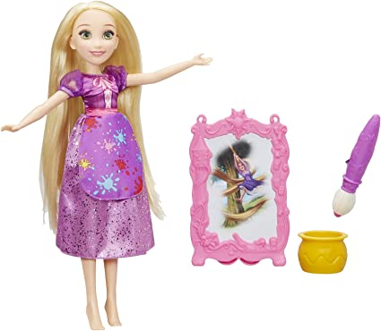 Disney Princess Paint Your Own Princess Rapunzel Tangled New crafts activity