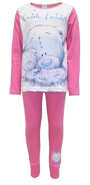 TDP Textiles - Pijama - relaxed - Manga Larga - para niña Rosa 6 años