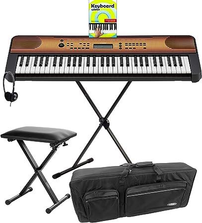Yamaha PSR-E360 MA - Juego de teclado (61 teclas, base y ...