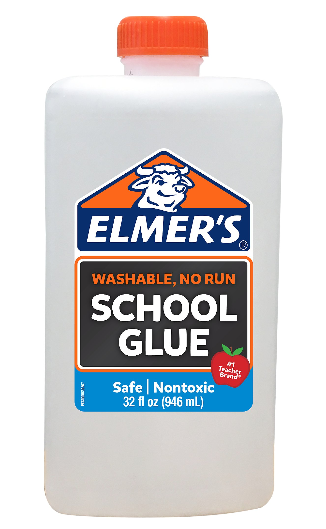 Elmer's Liquid School Glue, White, Washable, 32 Ounces - Great for Making Slime