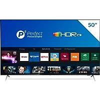 Smart TV Philips 50PUG7625 4K UHD, P5, HDR10+, Dolby Vision, Dolby Atmos, Bluetooth, WiFi, 3 HDMI, 2 USB - Preto Bordas…