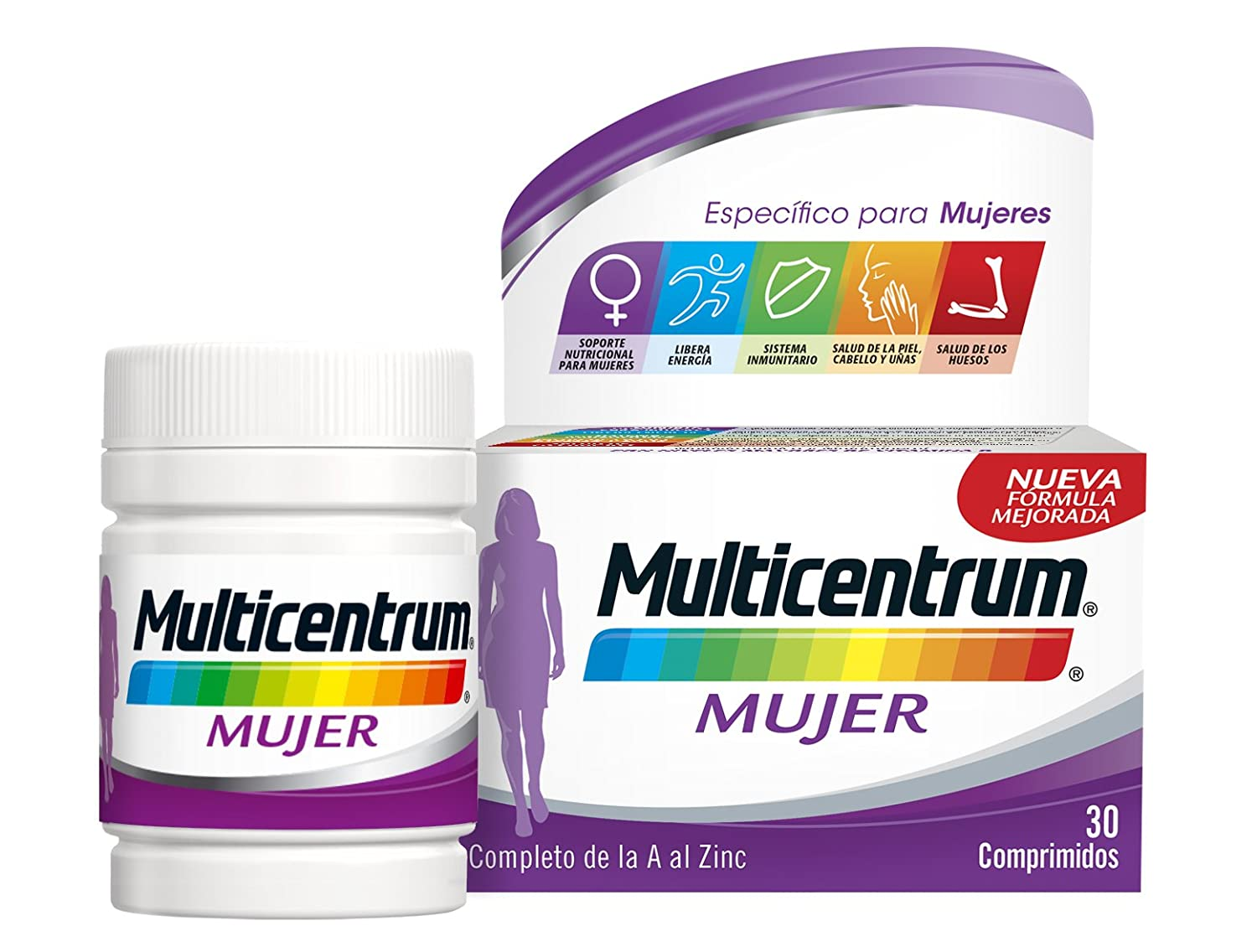 Amazon.com: MULTICENTRUM WOMAN 30 COMP by MULTICENTRUM: Health & Personal Care