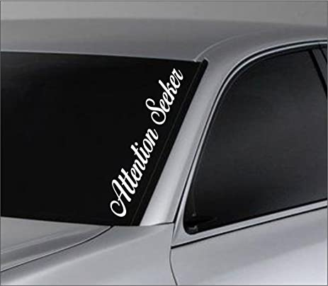 Windshield Lettering Decals