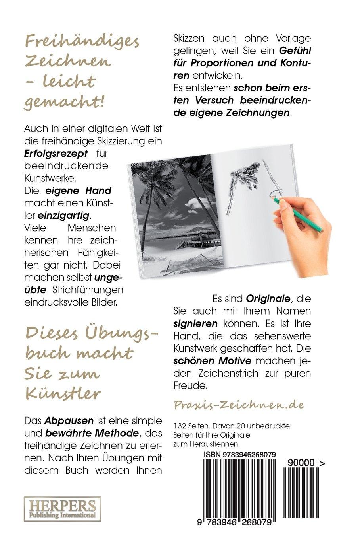 Praxis Zeichnen übungsbuch 12 Strand Amazonde York P Herpers