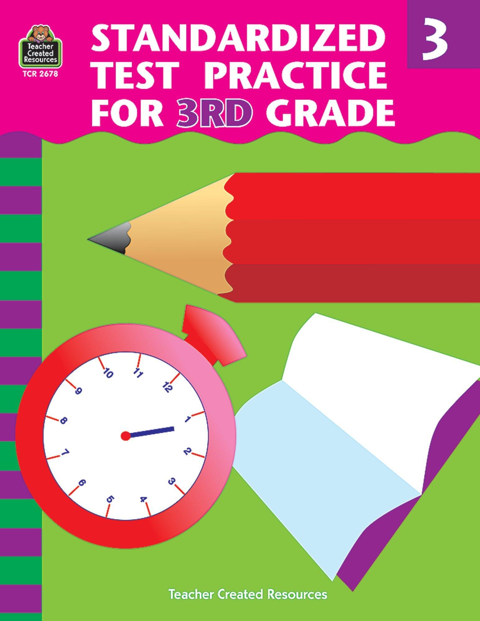 Standardized Test Practice For 3rd Grade Shields Charles J 0014467026787 Amazon Com Books [ 2000 x 1545 Pixel ]