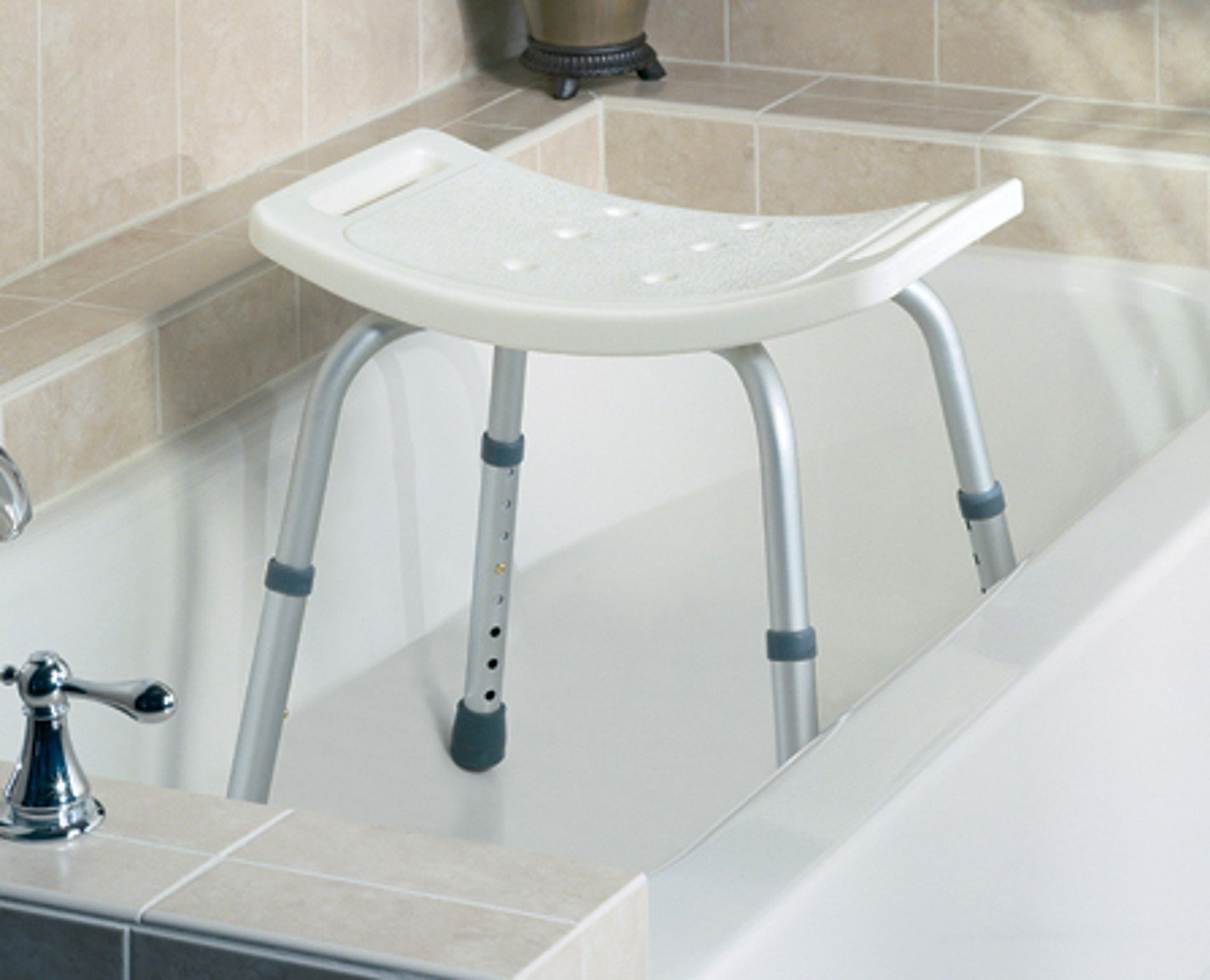 Amazon.com: Guardian - Sunrise Medical Easy Care Shower Stool ...