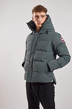 95fbba473f Canada Goose Mens MacMillan Parka Goose Down Jacket Green Large Hologram  Coat: Amazon.co.uk: Clothing