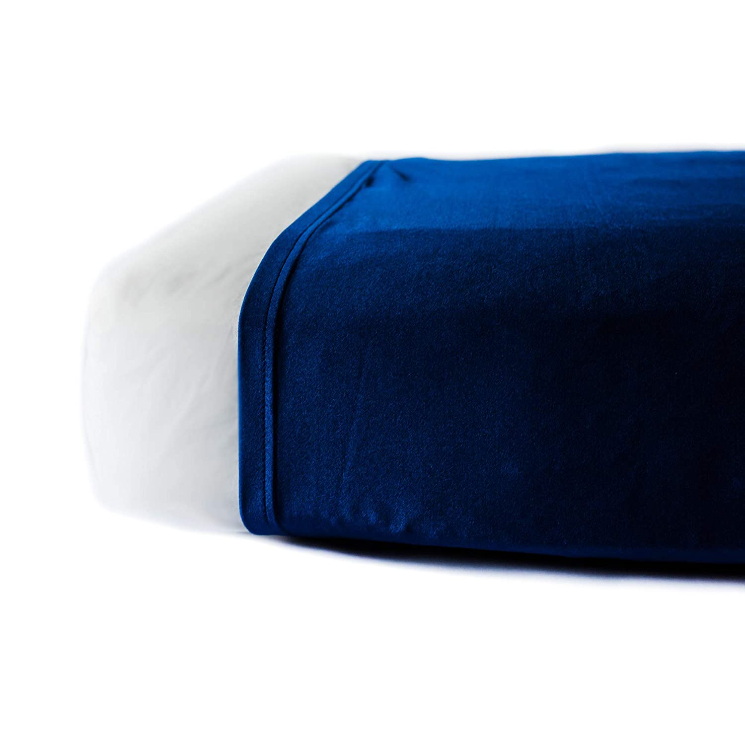 Yorkville Snuggle Sheet - Compression Sheet Alternative to Weighted Blankets for hot Weather - Cheaper, Lighter Lycra and Nylon (Twin) Yorkville Blanket Company
